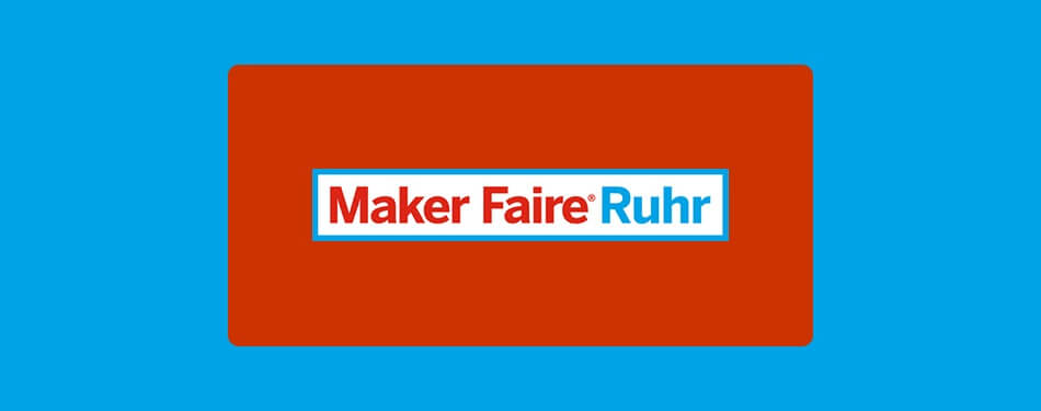 We are at the Maker Faire Ruhr 2016!