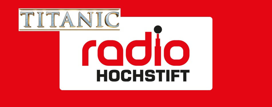 Radio report: Radio Hochstift on the Titanic-movie (2015)